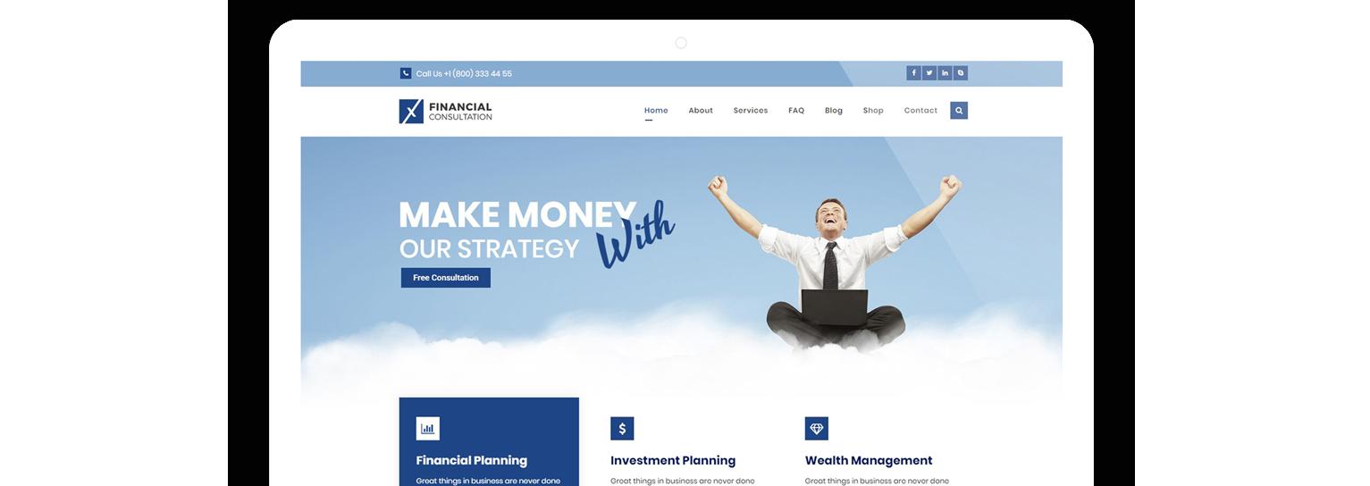 Web Agency – Web Design Agency WordPress Theme