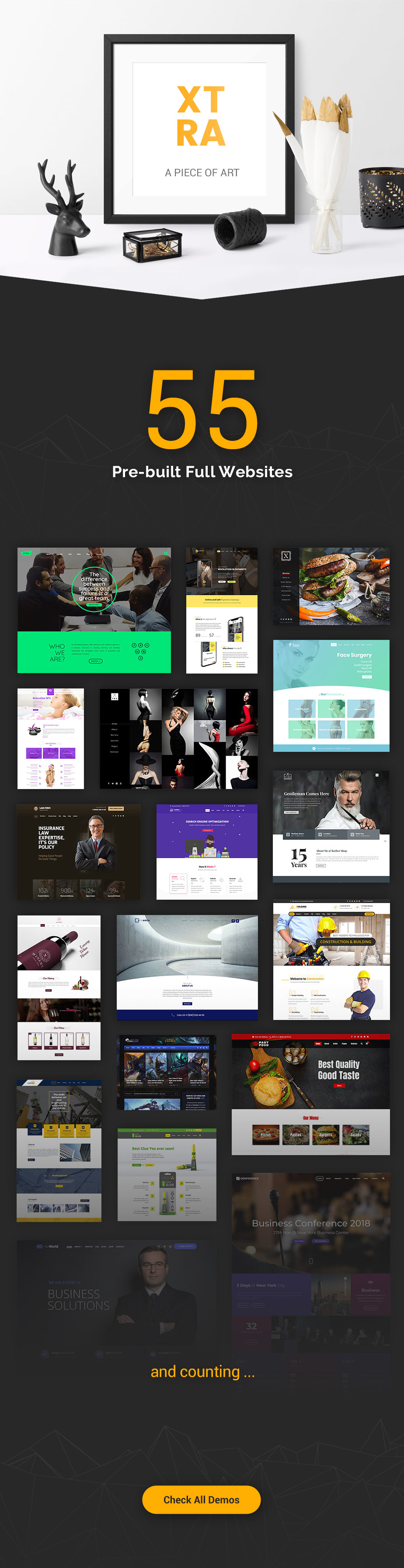 XTRA - Multipurpose WordPress Theme + RTL - 5