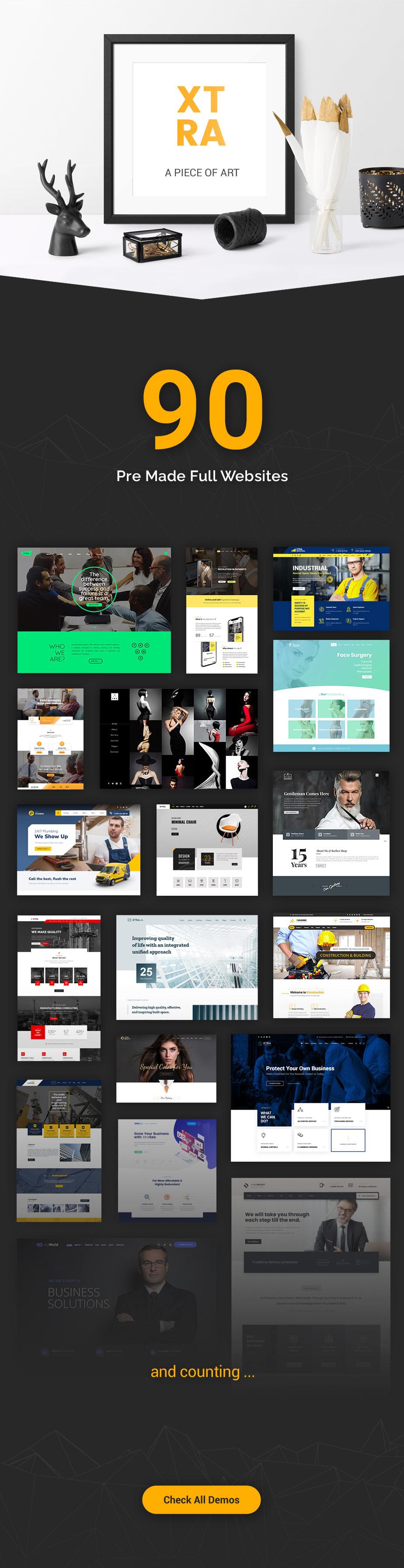 XTRA - Multipurpose WordPress Theme + RTL - 5